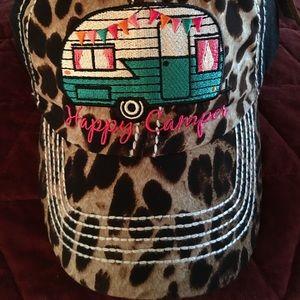 Accessories - Happy Camper Glamper Hat